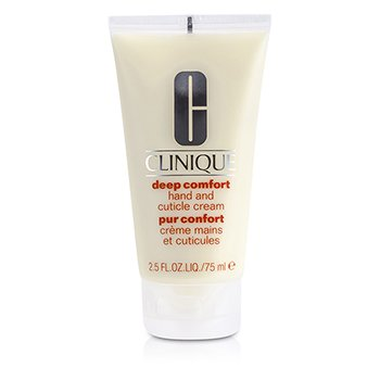 CliniqueDeep Comfort Hand And Cuticle Cream 75ml/2.6oz
