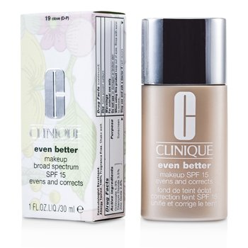 Clinique Even Better Makeup SPF15 (Dry Combination to Combination Oily) – No. 19 Clove 30ml/1oz