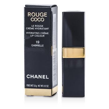Chanel Rouge Coco Hydrating Creme Lip Colour - # 19 Gabrielle 3.5g/0.12oz