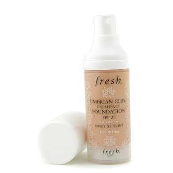 Fresh-Umbrian Clay Freshface Foundation SPF 20 - Chalet Girl
