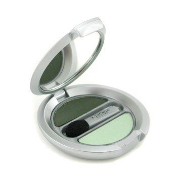 T. LeClerc-Powder Eye Shadow Matte & Iridescent Duo - # 24 Vert Amande ( New Packaging )