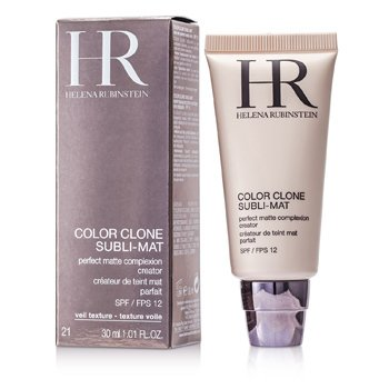 Helena Rubinstein Color Clone Subli Mat Perfect Matte Complexion Creator - Base Maquillaje Matificante SPF 12 - #21 Beige Natural  30ml/1.01oz
