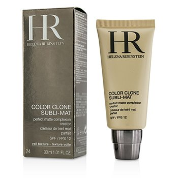 Helena Rubinstein-Color Clone Subli Mat Perfect Matte Complexion Creator SPF 12 - #24 Gold Caramel