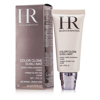 Helena Rubinstein Color Clone Subli Mat Perfect Matte Complexion Creator SPF 12 - #30 Gold Cognac 30ml/1.01oz