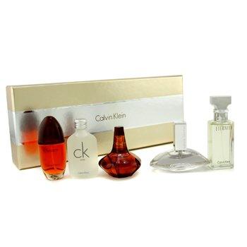 Calvin Klein-Calvin Klein Miniature Set: Eternity, CK One, Euphoria, Obsession, Secret Obsession