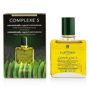 Rene Furterer Complejo Regenerador 5 Extractos de Plantas ( Tonifica el cuero cabelludo y fortalece el cabello)  50ml/1.69oz