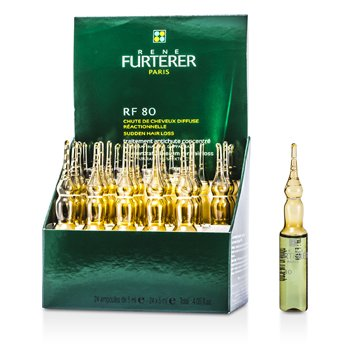 Rene Furterer RF 80 Concentrated Thin Hair Program (Recommended for Women)  24x5ml/0.16oz