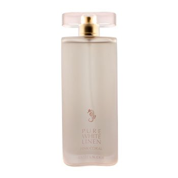 Estee Lauder Pure White Linen Pink Coral Eau De Parfum Spray  100ml/3.4oz