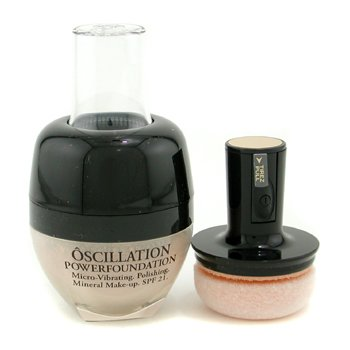 Lancome-Oscillation Powder Foundation Micro Vibrating Mineral MakeUp SPF 21 - # Honey 10