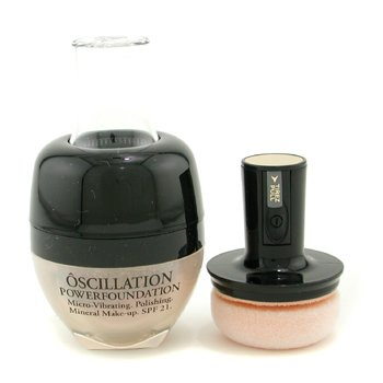 Lancome-Oscillation Powder Foundation Micro Vibrating Mineral MakeUp SPF 21 - # Honey 20