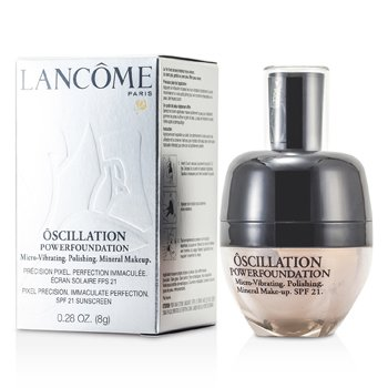 Lancome-Oscillation Powder Foundation Micro Vibrating Mineral MakeUp SPF 21 - # Honey 25