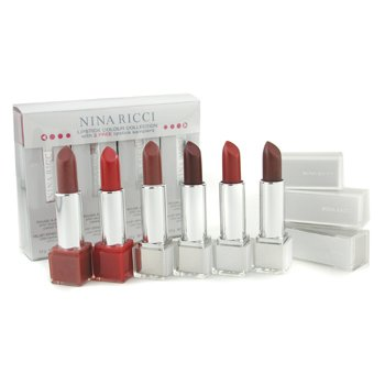 Nina Ricci-Lipstick Colour Collection - # Velvet Set 1