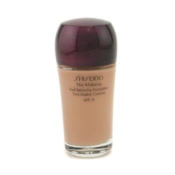 Shiseido-The Makeup Dual Balancing Foundation SPF15 - B80 Deep Beige