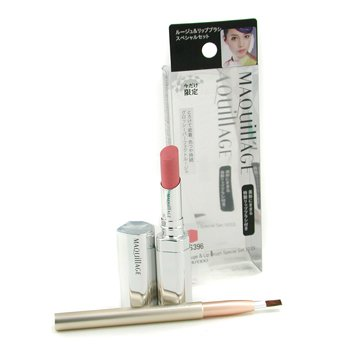 Shiseido-Maquillage Rouge & Lip Brush Special Set - # RS396