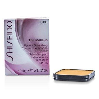 Shiseido-TM Perfect Smoothing Compact Foundation SPF 15 ( Refill ) - O80 Deep Ochre 53735