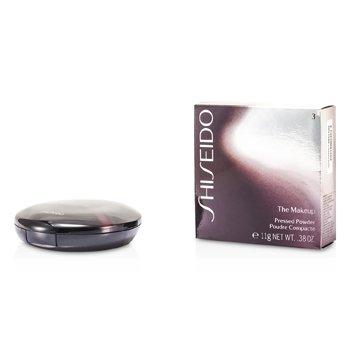 Shiseido-The MakeUp Pressed Powder Refill + Case - #3 Deep Bronze