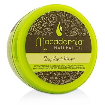 Macadamia Natural Oil Deep Repair Masque (For Dry, Damaged Hair)  250ml/8.5oz