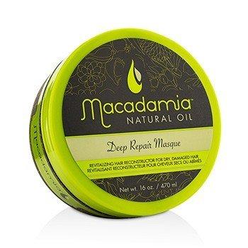Macadamia Natural Oil Deep Repair Masque (For Dry  Damaged Hair) 470ml/16oz
