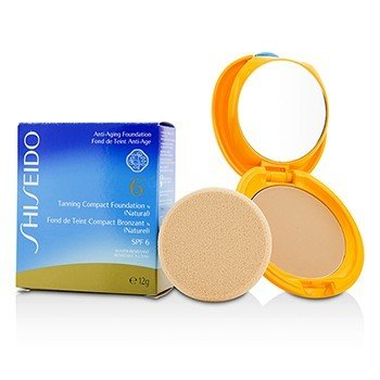 Shiseido Tanning Base Maquillaje Compacto N SPF6 - Natural  12g/0.4oz