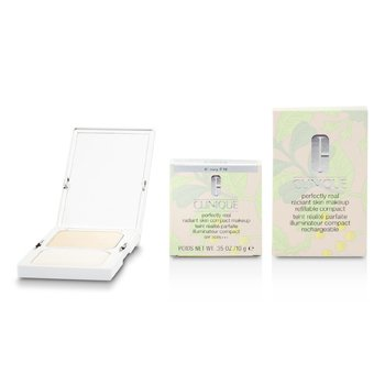 CliniquePerfectly Real Radiant Skin Compact Makeup SPF2910g/0.35oz