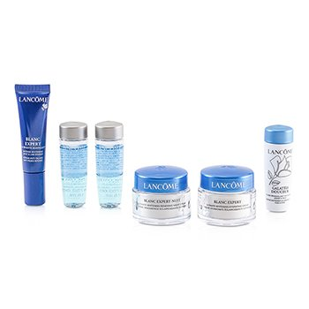 Lancome Travel Set: 2xBi Facil 15ml + Galateis Douceur 15ml + Blanc Expert Cream 15ml + Night Cream 15ml + Spot Eraser 10ml  6pcs