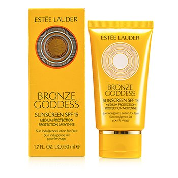 Estee LauderBronze Goddess Sun Indulgence Lotion for Face SPF 15 50ml/1.7oz