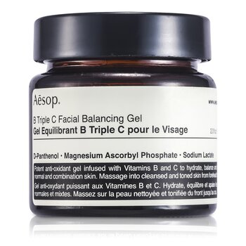AesopB Triple C Gel Facial Balance 60ml/2.21oz