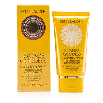 Estee LauderBronze Goddess Sun Indulgence Lotion for Face SPF 30 50ml/1.7oz