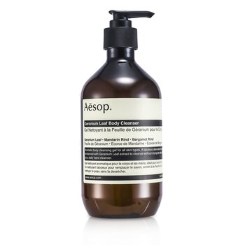 AesopGeranium Leaf Body Cleanser 500ml/17.99oz