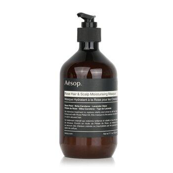 Купить Rose Увлажняющая Маска для Волос и Кожи Головы (для Всех Типов Волос) 500ml/17.64oz, Aesop