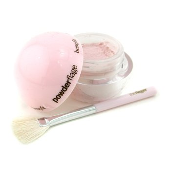 Benefit-Powderflage Set: 1x Powder Concealer + 1x Brush