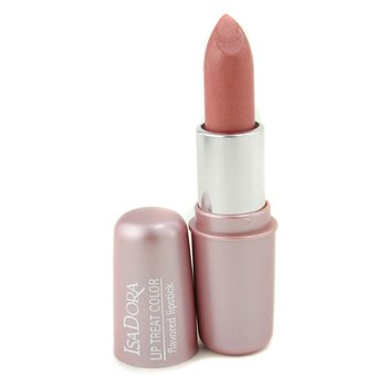 IsaDora-Lip Treat Color Flavored Lipstick - # 01 Discreet Beige