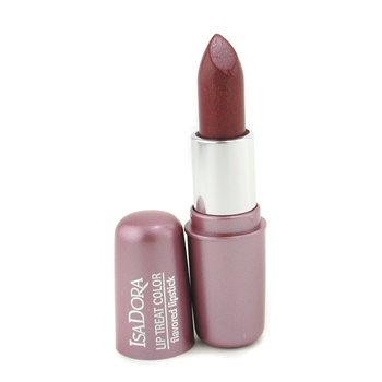 IsaDora-Lip Treat Color Flavored Lipstick - # 06 Cherry Wine