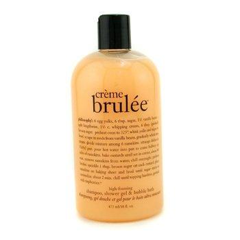 PhilosophyCreme Brulee - Ultra Rich Shampoo, Shower Gel & Bubble Bath 473.1ml/16oz