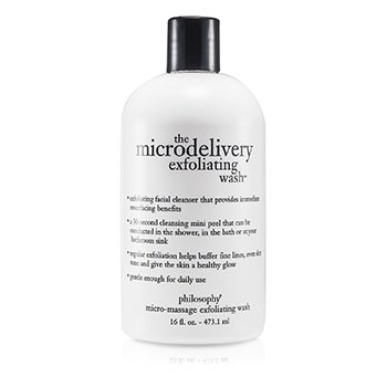 PhilosophyThe Microdelivery Micro-Massage Exfoliating Wash 473.1ml/16oz