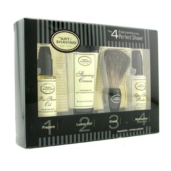 The Art Of ShavingStarter Kit - Inoloro: Aceite Pre-Afeitado + Crema Afeitado + Brocha + B�lsamo After Shave 4pcs