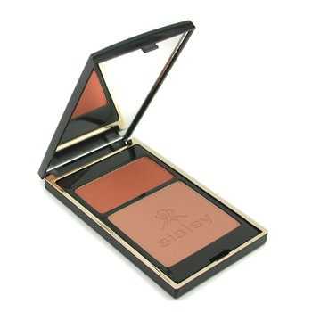 Sisley-Phyto Touches de Sisley Sun Glow Pressed Powder - Duo Miel Cannelle