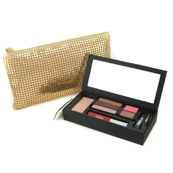 Clarins-Chic & Glam MakeUp Palette - Gold