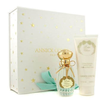 Annick Goutal-Petite Cherie Coffret: Eau De Toilette Spray 50m/1.7oz + Body Cream 100ml/3.4oz