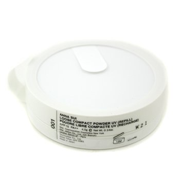 Anna Sui-Loose Compact Powder UV Refill - # 001