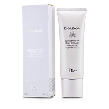 Christian DiorDiorSnow White Reveal Gentle Purifying Foam 110ml/3.7oz