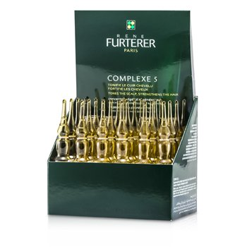 Rene Furterer Complexe 5 Regenerating Plant Extract (Tones The Scalp  Strengthens The Hair) 24x5ml/0.16oz