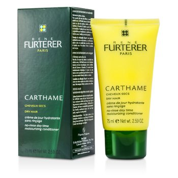 Rene Furterer Carthame No-Rinse Day Time Moisturizing Conditioner (For Dry Hair) 75ml/2.59oz