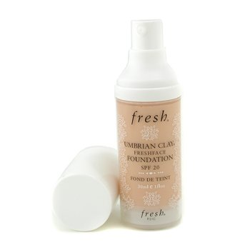 Fresh-Umbrian Clay Freshface Foundation SPF 20 - Seventh Veil