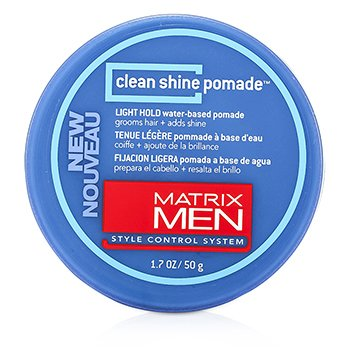 MatrixMen Clean Shine Pomade (Light Hold) 50g/1.7oz