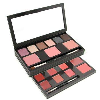 Laura Mercier-Colour Wardrobe: 6x Eyeshadow + 3x Blush + 8x Lip Colour + 2x Brush