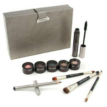 Laura Mercier-Gemstone Eye Collection: 5x Mini Baked Eye Colours + 1x Mascara + 1x Kohl Eye Pencil + 3x Brush + 1x Case