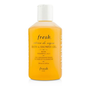 FreshCitron De Vigne Bath & Shower Gel 300ml/10oz