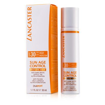 LancasterSun Age Control Bronceado Suave Anti Manchas Nutri Hidrataci�n Protecci�n Alta SPF 30 - Piel Madura 50ml/1.7oz