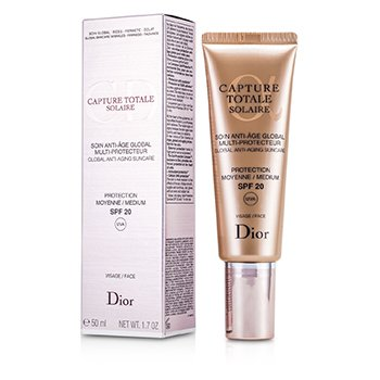 Christian DiorCapture Totale Solaire Global Cuidado Solar Antienvejecimiento SPF20 UVA 50ml/1.7oz